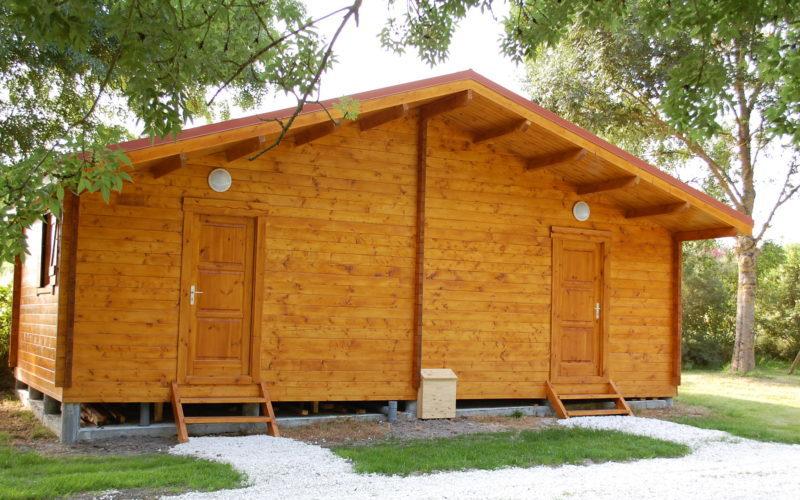 chalet et mobil home à la location dans camping proche de Royan