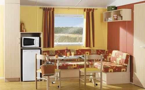 location mobil home au camping La Clé des Champs