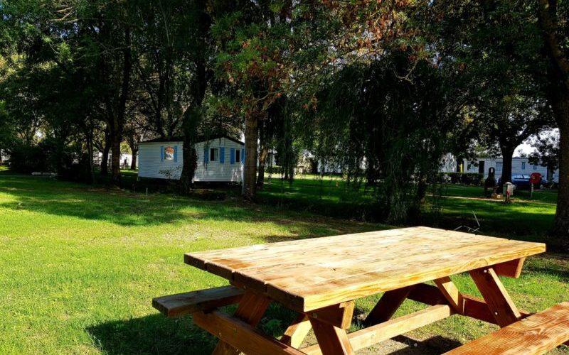 Emplacement tente et caravane dans camping proche de Royan