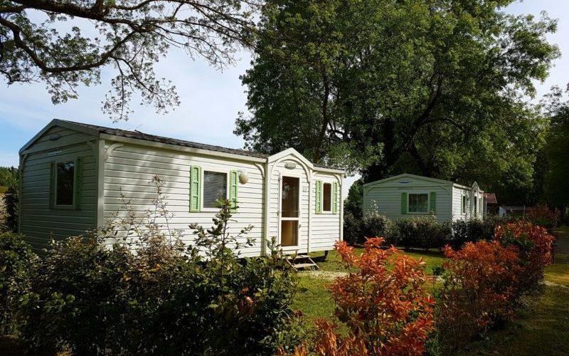 location mobil home et bungalow dans camping au calme en Charente Maritime