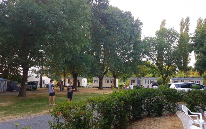 bungalow et mobil home à la location à La Clé des Champs en Charente Maritime
