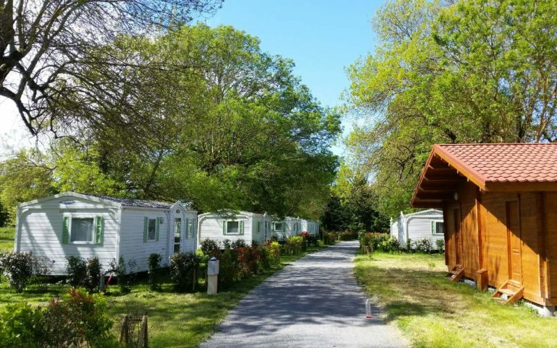 Location mobil home au camping La Clé des Champs situé à proximité de Royan